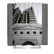 Classical London Shower Curtain