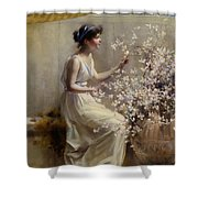 Classical Maiden Shower Curtain