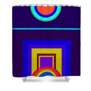 Classical Night Shower Curtain