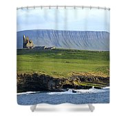 Classiebawn Castle, Mullaghmore, Co Shower Curtain