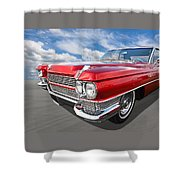 Classy - '64 Cadillac Shower Curtain