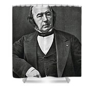 Claude Bernard, French Physiologist Shower Curtain by Photo Researchers