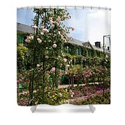 Claude Monets House  - Giverney - France Shower Curtain