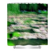 Claude Monets Water Garden Giverny 1 Shower Curtain