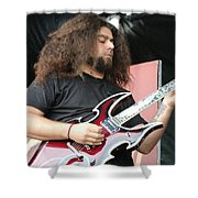 Claudio Sanchez Of Coheed And Cambria 2 Shower Curtain