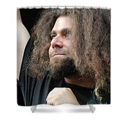 Claudio Sanchez Of Coheed And Cambria Shower Curtain