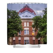 Clay County Courthouse Shower Curtain