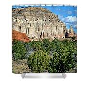 Claystone - Sandstone - Kodachrome Basin Shower Curtain