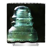 Clean Glass Shower Curtain