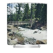 Cleanse The Palette Shower Curtain by Margaret Pitcher