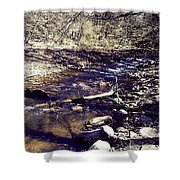 Cleansing Stream Shower Curtain