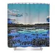 Clear Creek Shower Curtain