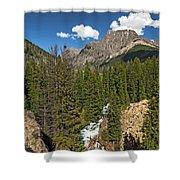 Clear Creek, Flat Top Mountain Shower Curtain