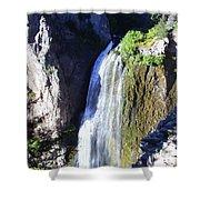 Clear Creek Waterfall  Shower Curtain