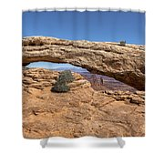 Clear Day At Mesa Arch - Canyonlands National Park Shower Curtain