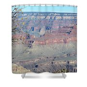 Clear Day At The South Rim Shower Curtain