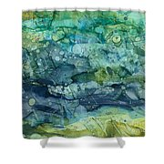 Clear Flow Shower Curtain