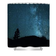 Clear Night Skies Shower Curtain
