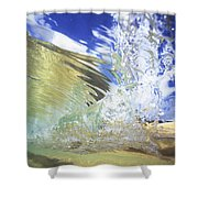 Clear Water Shower Curtain by Vince Cavataio - Printscapes