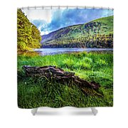 Clear Waters Of Glendalough Shower Curtain