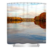 Clear Willingness Shower Curtain