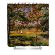 Clearing 1895 Shower Curtain