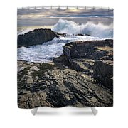 Clearing Storm At Bald Head Cliff Shower Curtain