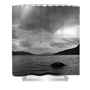 Clearing Storm, Lake Otsego Shower Curtain
