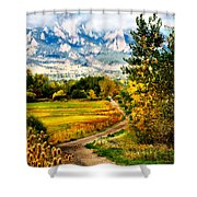 Clearly Colorado Shower Curtain