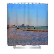 Clearwater Beach Florida Shower Curtain