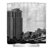Clearwater Causeway Shower Curtain