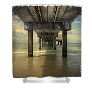 Clearwater Pier Shower Curtain
