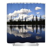 Clearwater Reflections Shower Curtain