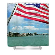 Clearwaters Shower Curtain