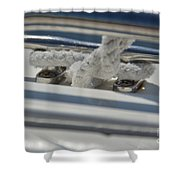 Cleat Shower Curtain