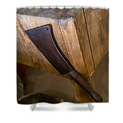 Cleaver Ready For Action Shower Curtain