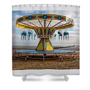 Cleethorpes Beach Shower Curtain
