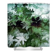 Clematis On The Vine Shower Curtain