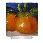 Clementines Shower Curtain