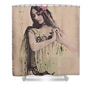 Cleo De Merode Shower Curtain