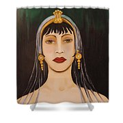 Cleo Shower Curtain by Leah Saulnier The Painting Maniac