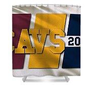 Cleveland Cavaliers Flag Shower Curtain
