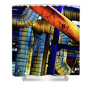 Cleveland Industry  Shower Curtain