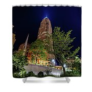 Cleveland On The Rise Shower Curtain