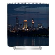 Cleveland Reflections Shower Curtain