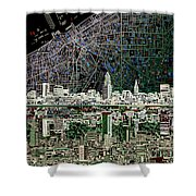 Cleveland Skyline Abstract 4 Painting By Bekim Art