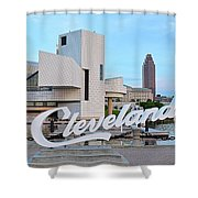 Cleveland Updated View Shower Curtain