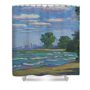 Cleveland Vista Shower Curtain