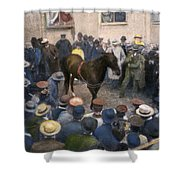 Clever Hans, 1904 Shower Curtain