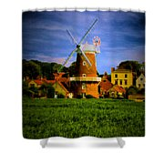 Cley Mill Norfolk Shower Curtain